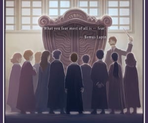 harry potter, remus lupin, and book image