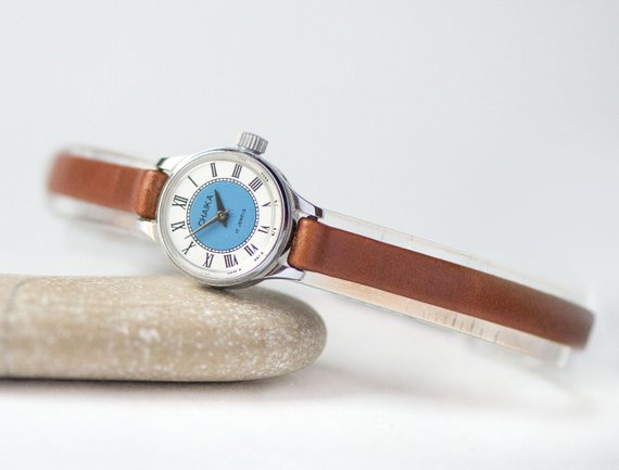 etsy, watch, and silver women watch image