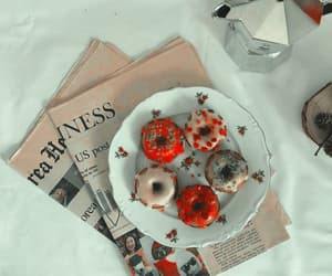 food, donuts, and aesthetic image