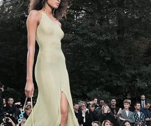 model, runway, and fadhion image