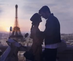 couple, fifty shades freed, and eiffel tower image