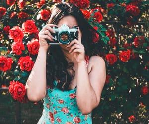 aesthetics, flash, and flowers image