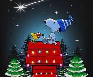 christmas and snoopy image