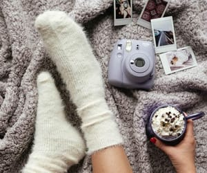 instax, socks, and winter is here image