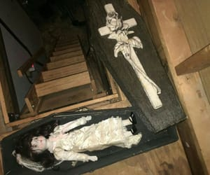goth, creepy, and doll image