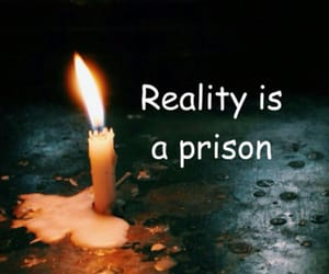 candle, light, and prison image
