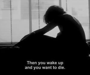 again, depression, and sadness image