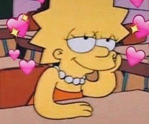 love, simpsons, and lisa simpson image