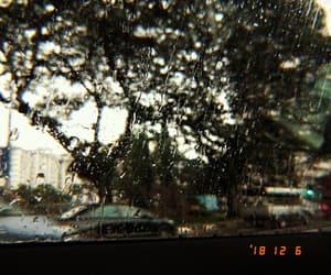 alternative, rain, and window image