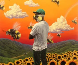 flower boy, tyler the creator, and bee image