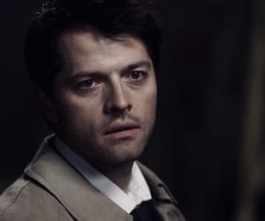 castiel and spn image