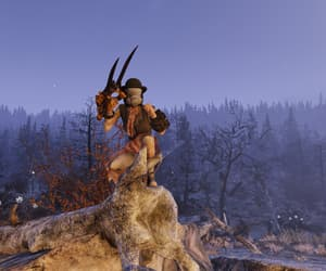 evening, fallout, and hunter image