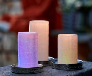 bougie, candle, and lumineuses image