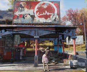 fallout, train station, and fallout76 image