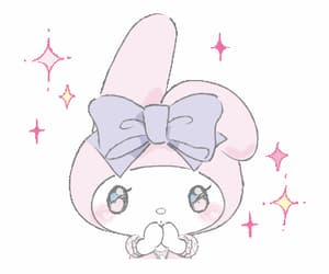 gif, my melody, and sanrio image