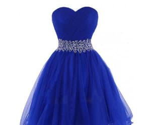 cheap dress and blue dress image