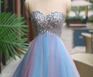 short prom dresses and blue homecoming dresses image