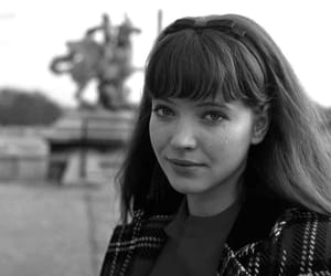 anna karina, black and white, and vintage image
