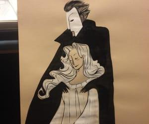 art, erik, and Phantom of the Opera image