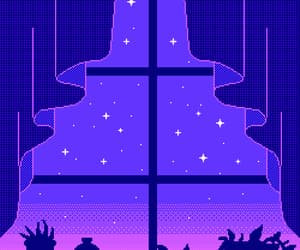 gif, purple, and pixel image