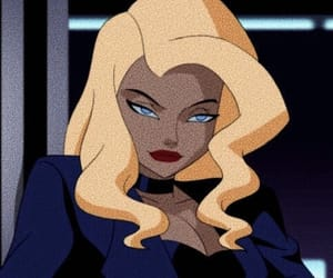 cartoon, Black Canary, and DC image