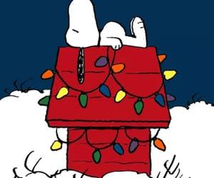Charles Schulz, christmas lights, and tumblr image