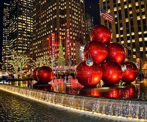 christmas, usa, and city image