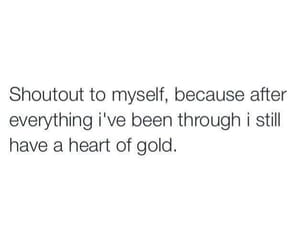 quotes, heart, and gold image