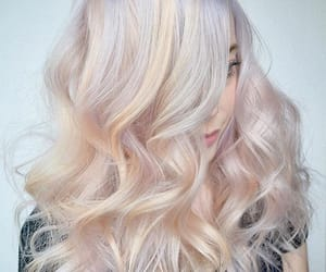blonde, colorful, and colors image