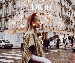 fashion, dior, and paris image