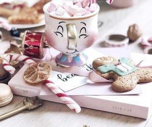 candy, christmas, and coffee image