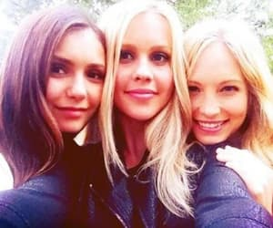 Elena,rebeckah and Caroline