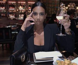 black, luxury, and brunette image