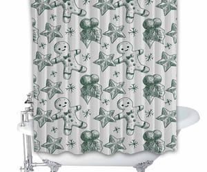 autumn, spring, and shower curtain image