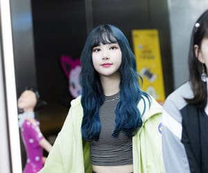 kpop, long hair, and eunha image