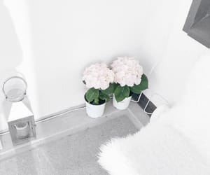 candle, decor, and flowers image