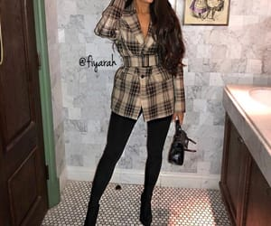 brune brunette, night out look, and goal goals life image