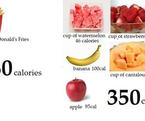 healthy, calories, and food image
