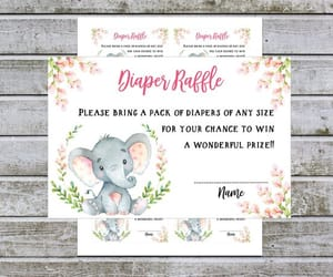etsy, baby shower games, and girl baby shower image