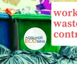 workplace bins adelaide, workplace waste, and workplace recycling image