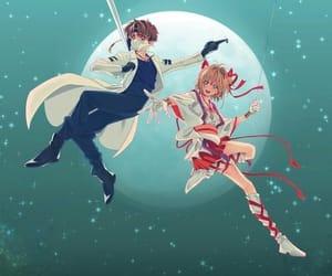card captor sakura, sakura, and syaoran image
