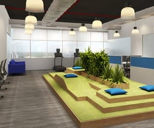 coworking space, coworking, and furnished office space image