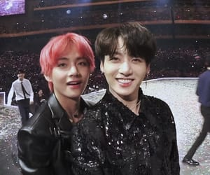 bts, v, and jungkook image