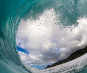 blue, outdoor, and surf image