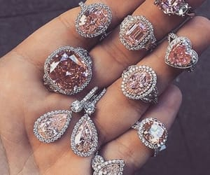 diamond, rings, and luxury image