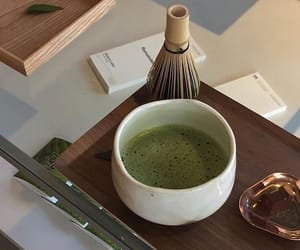 aesthetic, tea, and matcha image