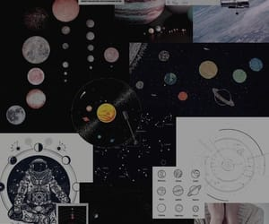 planets, background, and Collage image
