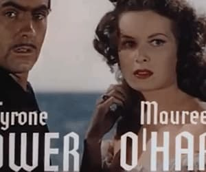 gif, maureen o'hara, and the black swan image