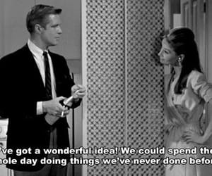 audrey hepburn, George Peppard, and Breakfast at Tiffany's image