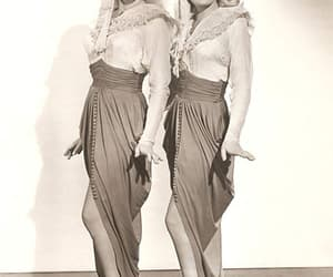 Betty Grable, june haver, and the dolly sisters image